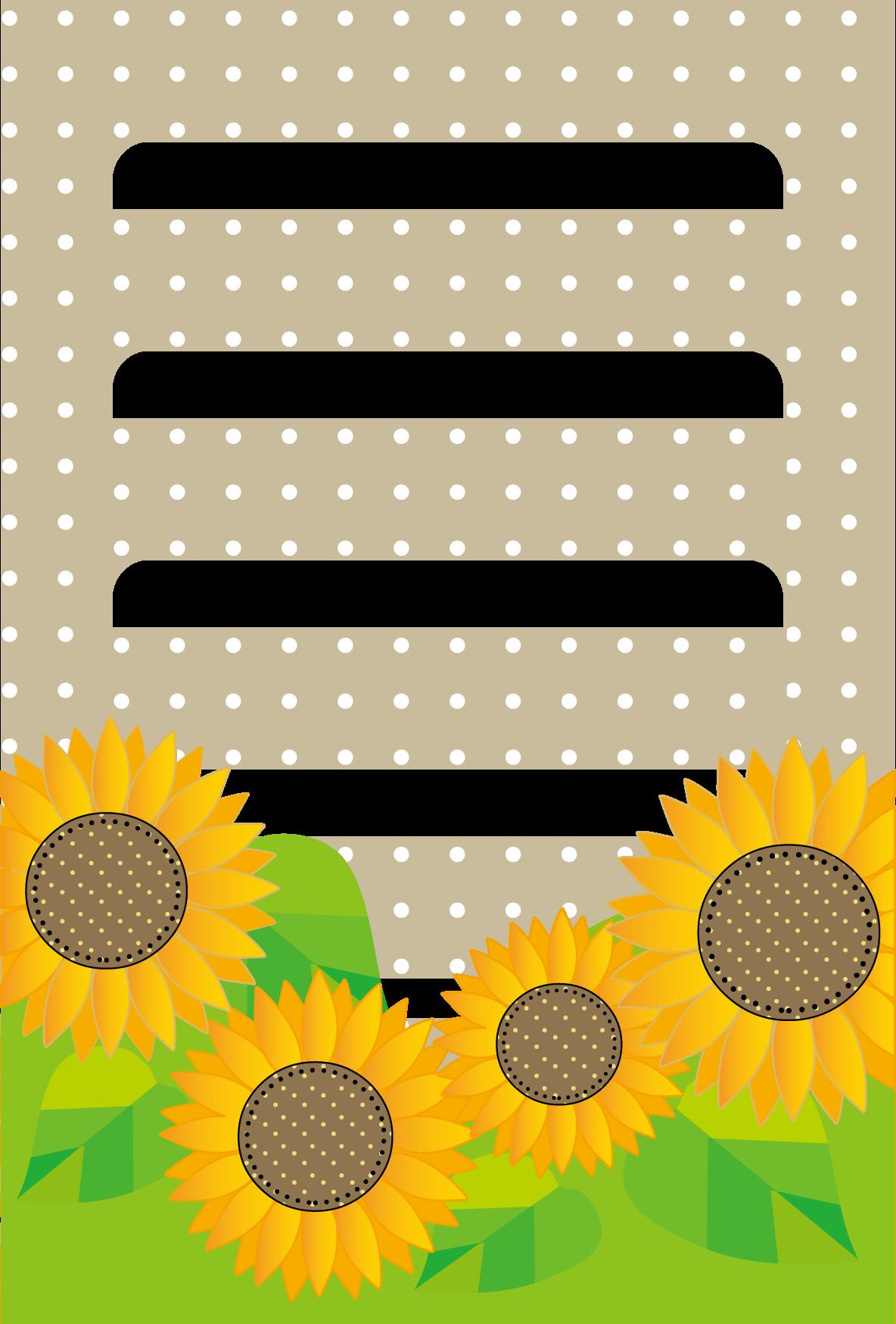 暑中見舞い無料素材/フレーム夏イラスト/ひまわり2