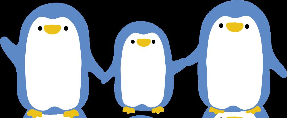 ペンギン親子, 12