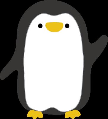 かわいいペンギンのイラスト1